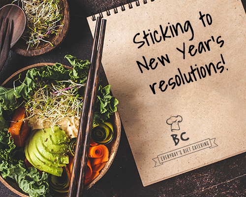 Sticking to your New Year's Resolutions!